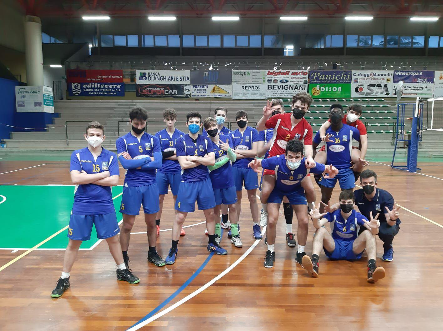 Volley: bene l'Under 17, alti e bassi per la Serie C